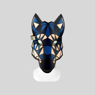 Masque Loup Lumineux